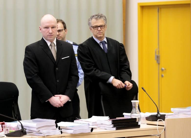 Anders Breivik wygrał proces przeciwko Norwegii