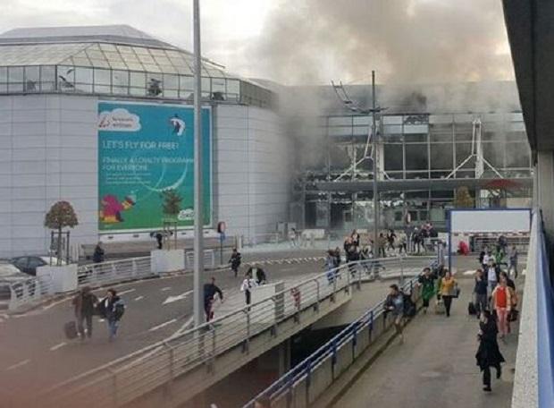 Lawinowo rośnie liczba ofiar zamachów w Brukseli. Na lotnisku i metrze zginęło już 26 osób, dziesiątki rannych