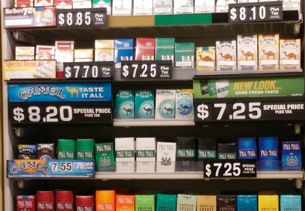 Papierosy jak alkohol – w Chicago musisz mieć 21lat
