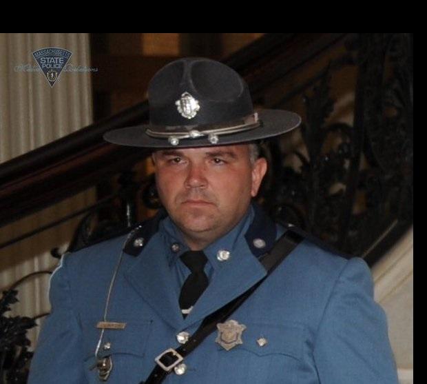 Funkcjonariusz policji stanowej zginął w Massachusetts