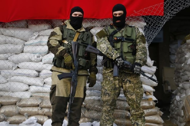 Ukraina: Ponad 30 tysięcy bojówkarzy w Donbasie