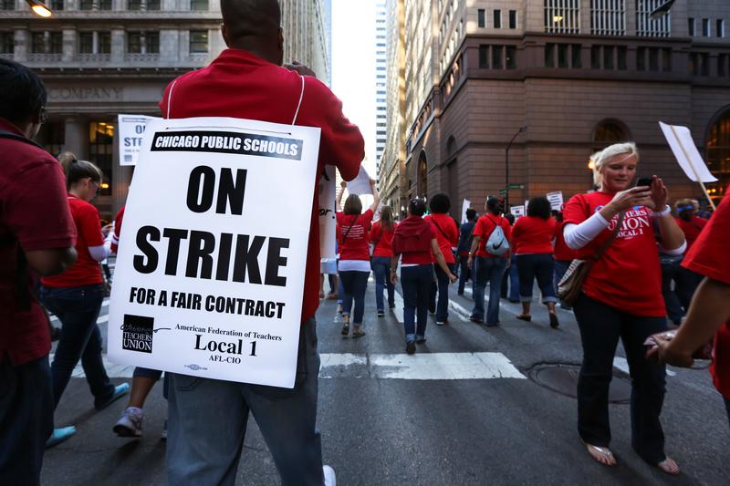 W piątek strajk nauczycieli. CPS zapewni uczniom opiekę