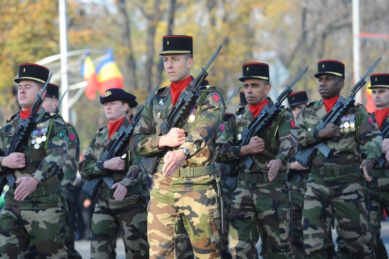 Rekrutacja rezerwistów do armii francuskiej