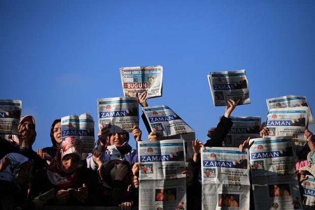 Zamach na wolność prasy w Turcji