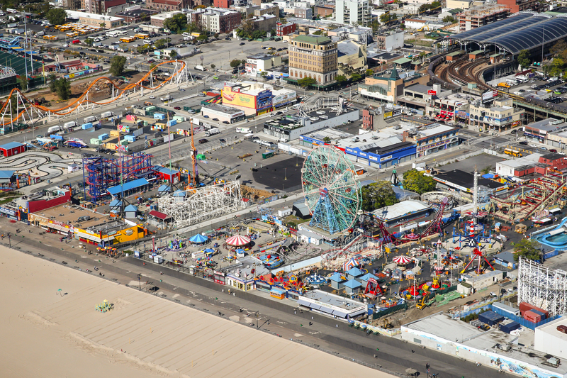 B&B Carousell na Coney Island została wpisana do National Register of Historic Places.
