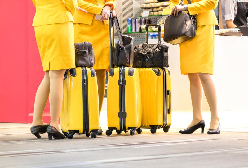 Stewardesa na LAX miała dwie walizki kokainy