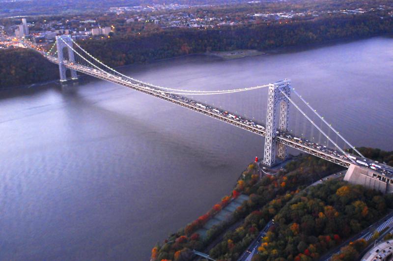 Uwaga kierowcy. Rozpoczynają się roboty drogowe na George Washington Bridge.