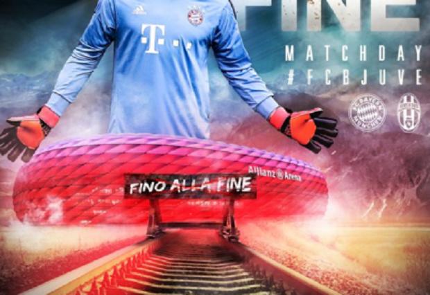 "Krytyka Bayernu za plakat promujący mecz z Juventusem. ""Przypomina obóz koncentracyjny"""