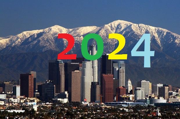 Delegaci MKOl-u rozpoczęli wizytę w Los Angeles