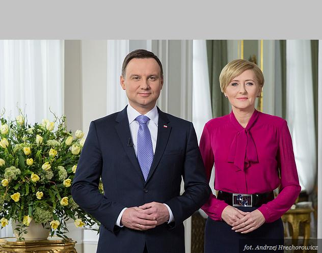 Para prezydencka złożyła Polakom wielkanocne życzenia