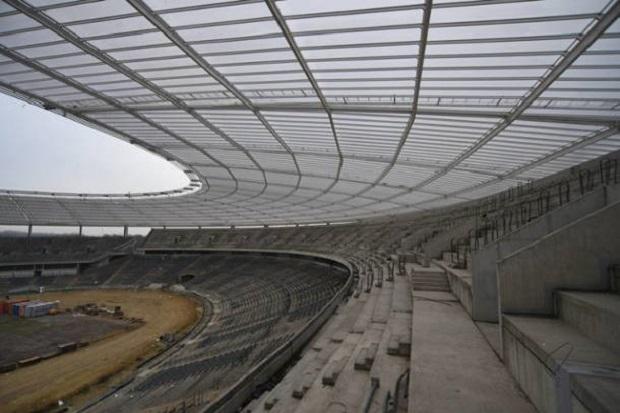 Stadion Śląski to wciąż wielki plac budowy. Brakuje 15 mln złotych