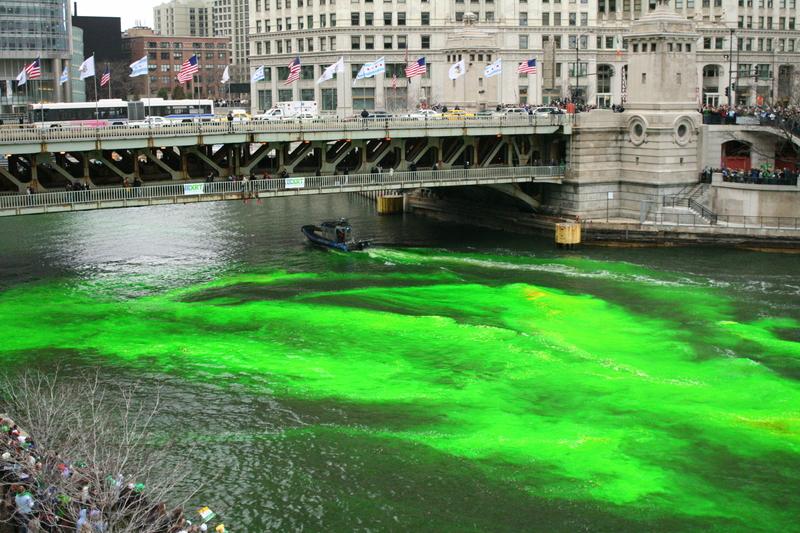 Shamrock, whiskey i zielona rzeka – przygotowania do Dnia Św. Patryka w Chicago