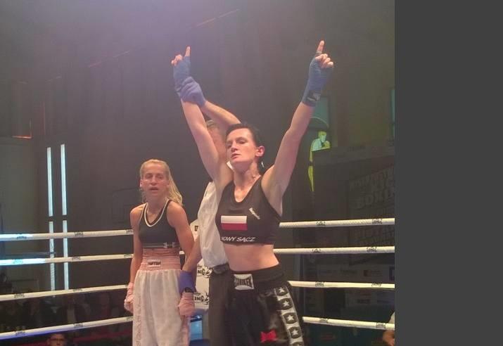 Policjantka z Katowic mistrzynią Polski w kickboxingu