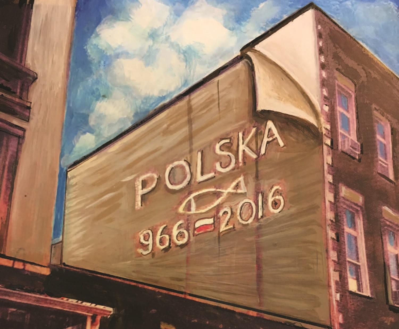 Kolejny polski akcent w East Village – mural przypomni o 1050-leciu państwa polskiego