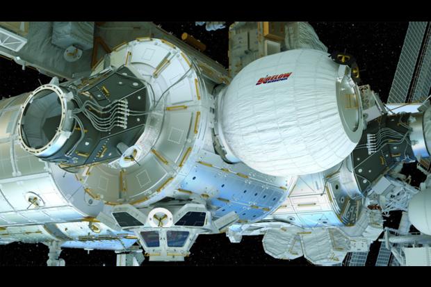 Beam już doczepiony do Międzynarodowej Stacji Kosmicznej