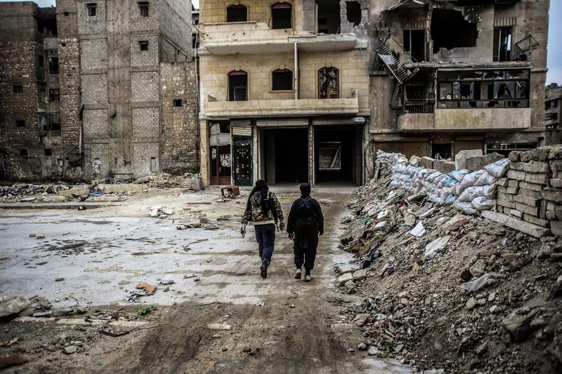 Ewakuacja wschodnich dzielnic Aleppo wznowiona