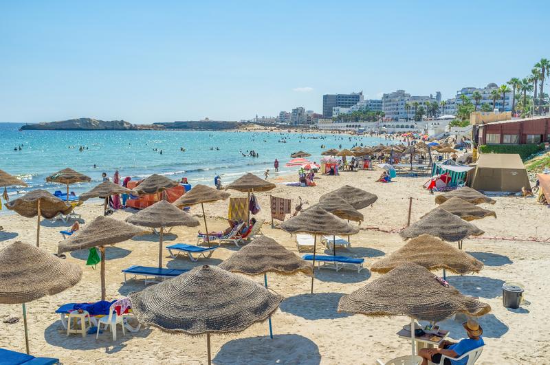 Pierwsi turyści wylecieli do Tunezji