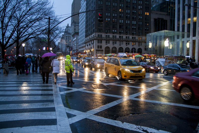 Nad Nowy Jork nadciąga wichura