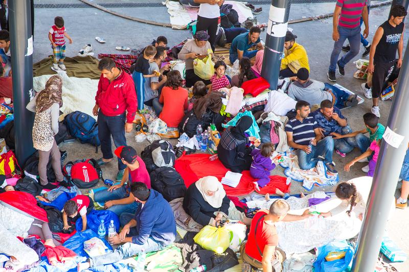 Protesty uchodźców w Grecji przeciwko odsyłaniu ich do Turcji