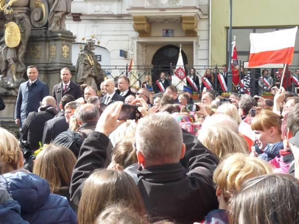 Prezydent Andrzej Duda w Bystrzycy Kłodzkiej