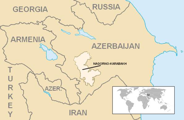 W nocy wybuchły walki o Górski Karabach