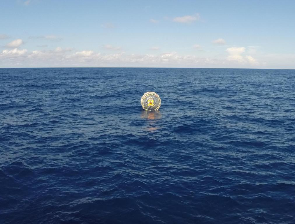 Podróż w wielkiej bańce przez ocean zakończona niepowodzeniem