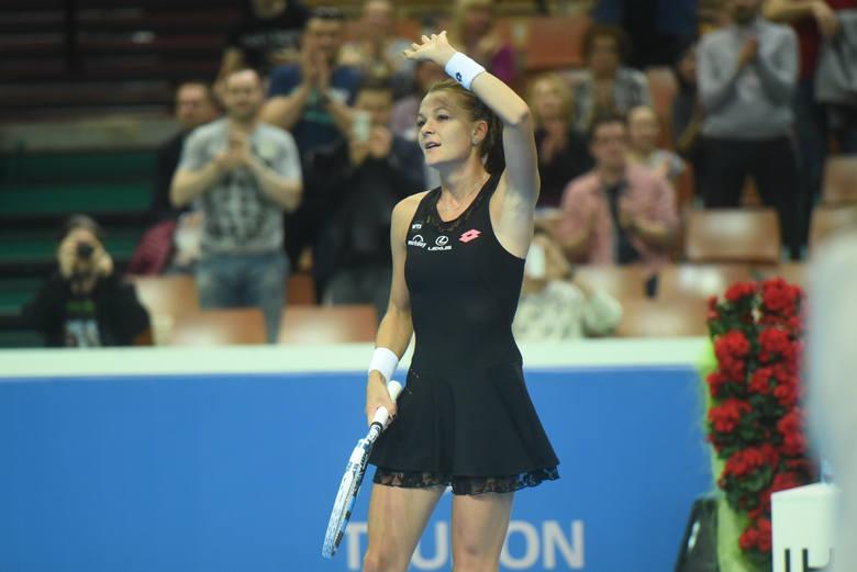 Agnieszka Radwańska w półfinale turnieju w Pekinie