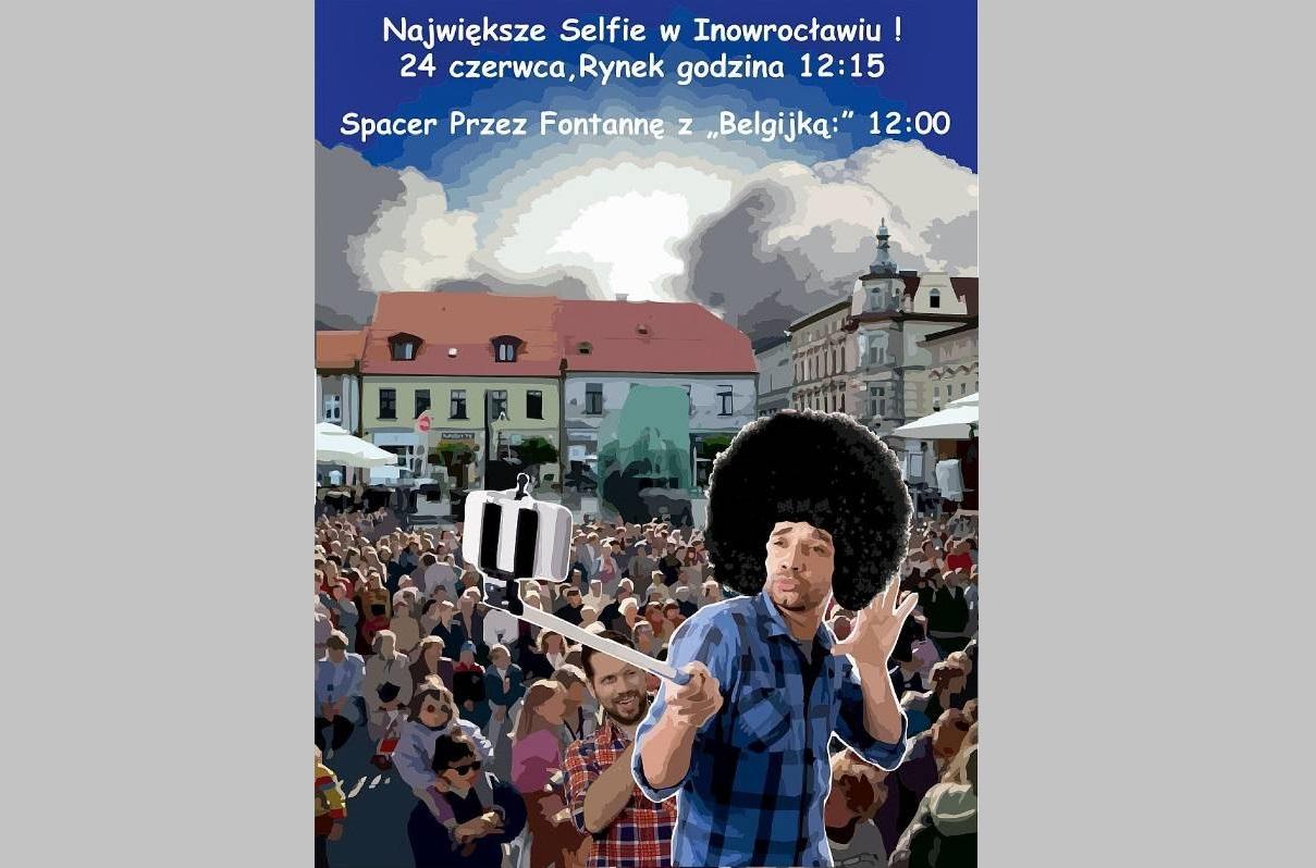 Początek wakacji: największe selfie w Inowrocławiu!