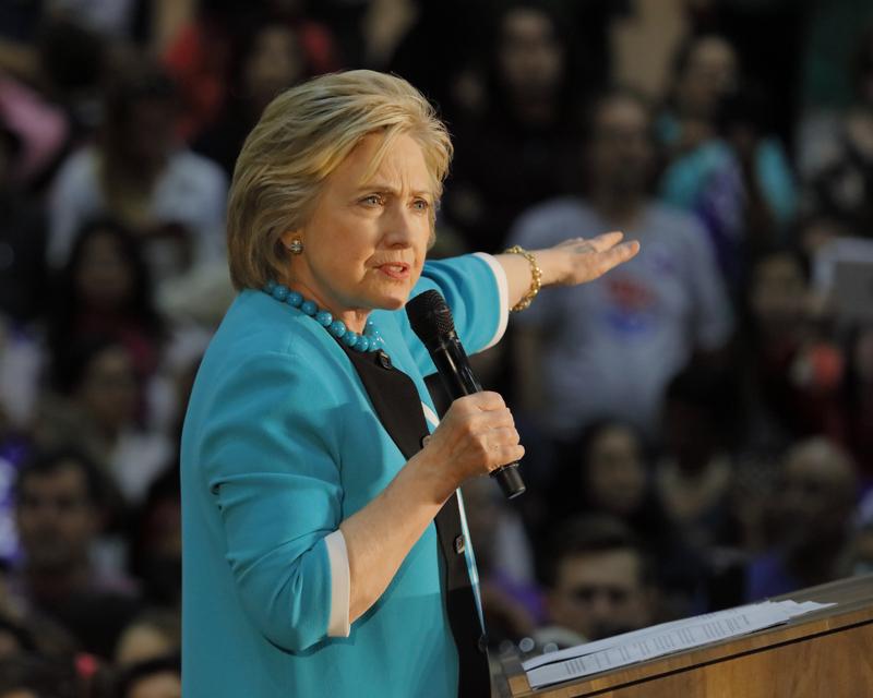 Hillary Clinton w Chicago