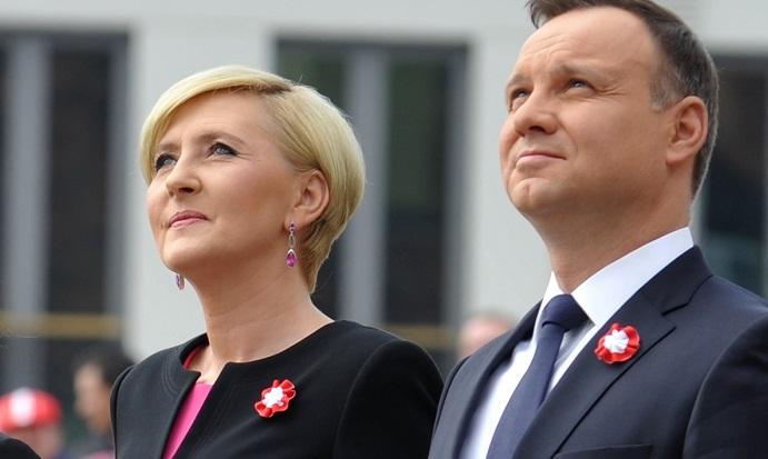 Uroczystości Święta Narodowego 3 maja z udziałem pary prezydenckiej