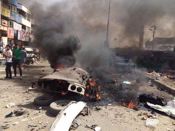 Zamachy w Bagdadzie, ponad 20 ofiar i wielu rannych