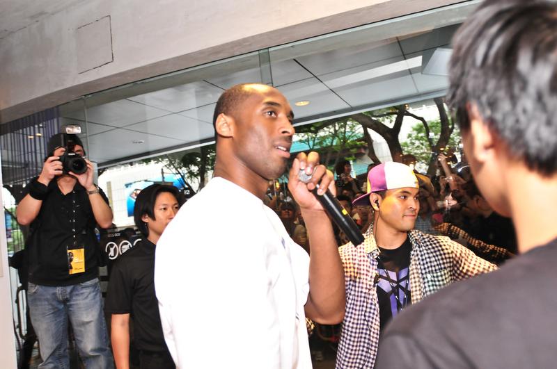 Kobe Bryant chce igrzysk w Los Angeles