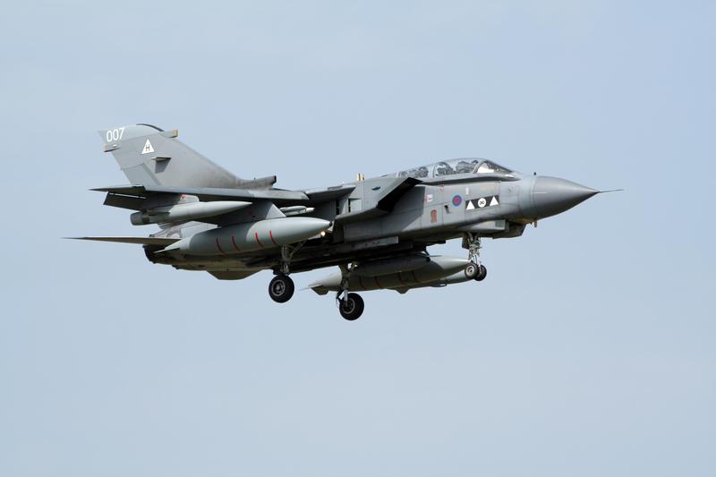 Brytyjskie myśliwce przechwyciły trzy rosyjskie samoloty wojskowe