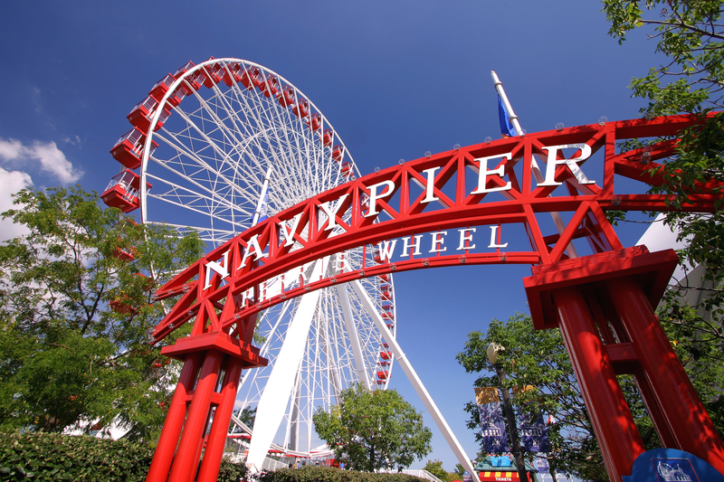 Ferris Wheel na Navy Pier zmieniło nazwę na Centennial Wheel