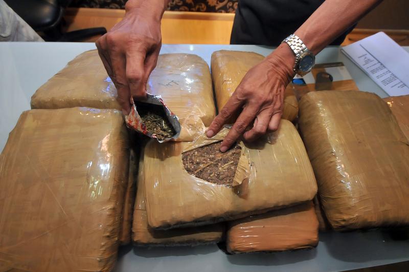 15 ton marihuany przemycił krakowski gang