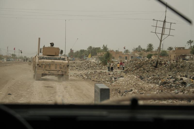 Irak: Wojsko odbiło budynek telewizji na obrzeżach Mosulu