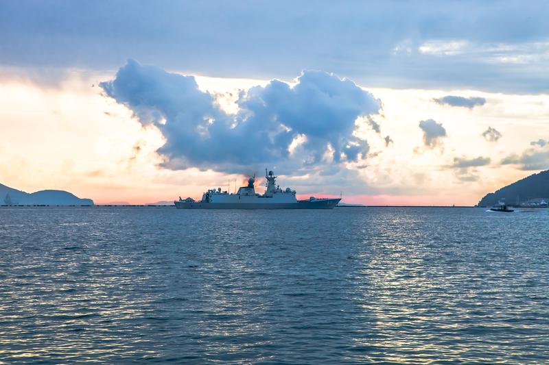 Wojskowe patrole na kanale La Manche
