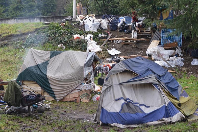 W Seattle oczyszczą ogromne obozowisko dla bezdomnych