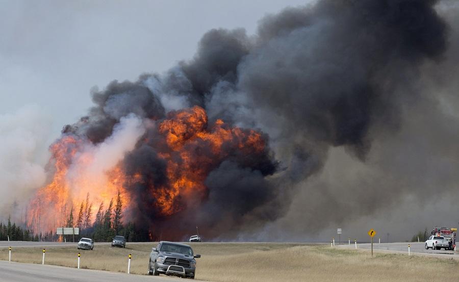 Kanada wciąż płonie: 100 tys. mieszkańców prowincji Alberta musiało opuścić swoje domy