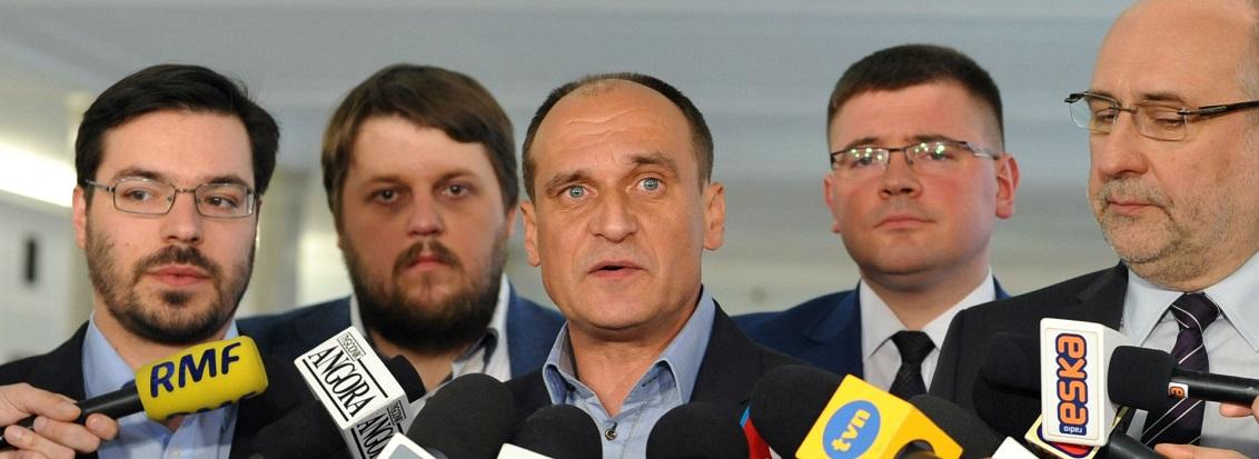 Kukiz'15 złożył w Sejmie projekt tzw. ustawy antysitwowej