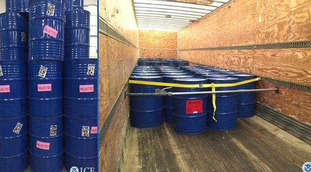 W Chicago przejęto 60 tysięcy ton nielegalnego miodu z Chin