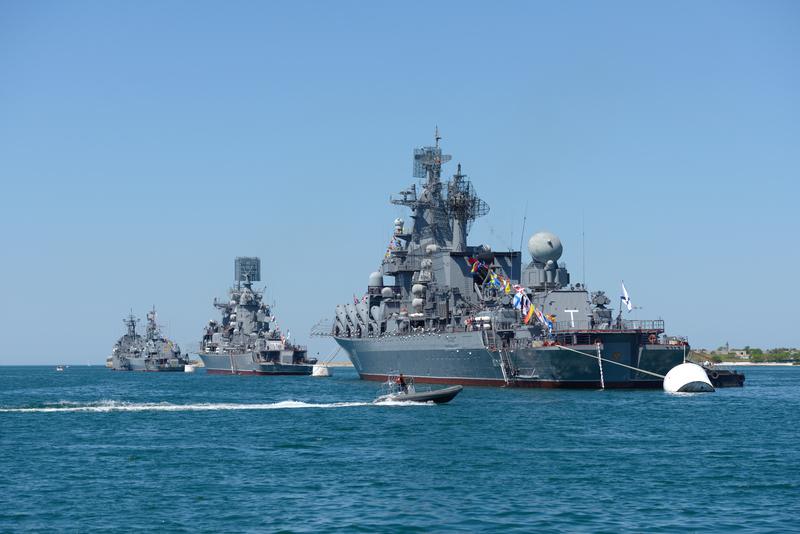 Rosyjski okręt niemal doprowadził do kolizji z amerykańską jednostką