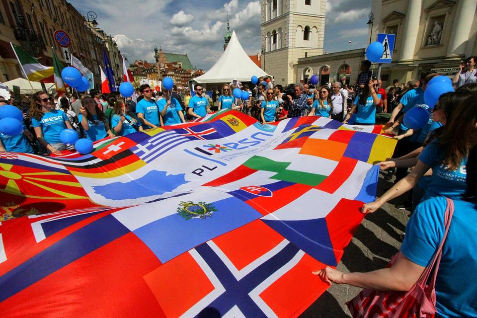 """Parada Schumana pod hasłem """"Chcemy Europy"""""""