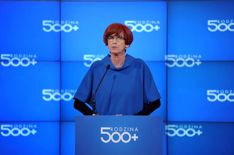 Minister Rafalska o 2 latach rządów PiS: Nakłady na politykę rodzinną znacząco wzrosły