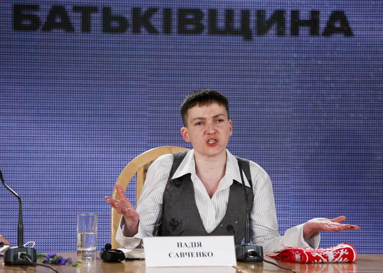 Nadija Sawczenko: Ja w Putinie widzę gnidę