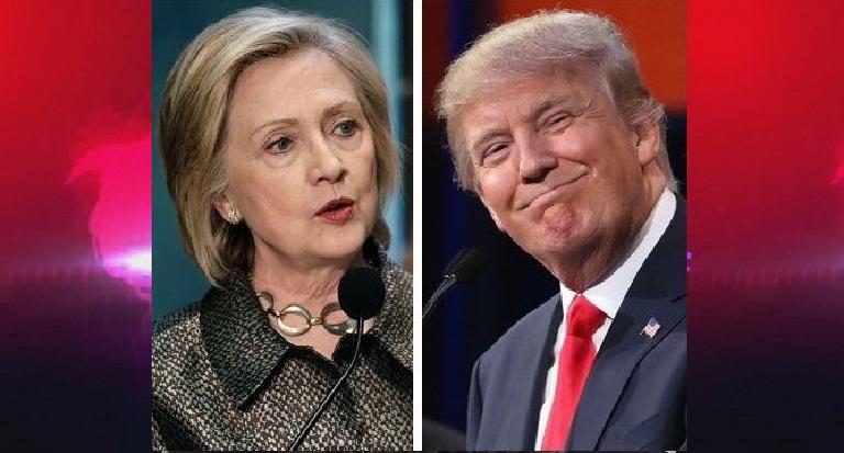 Hillary Clinton pokonuje Donalda Trumpa o jedenaście procent