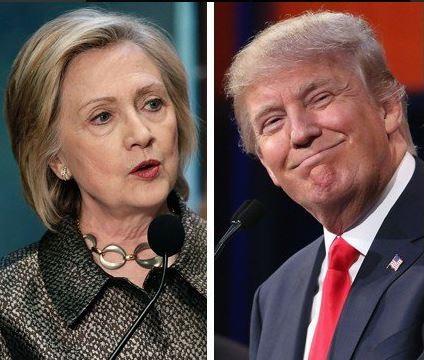 Trump i Clinton wygrali prawybory w stanie Waszyngton
