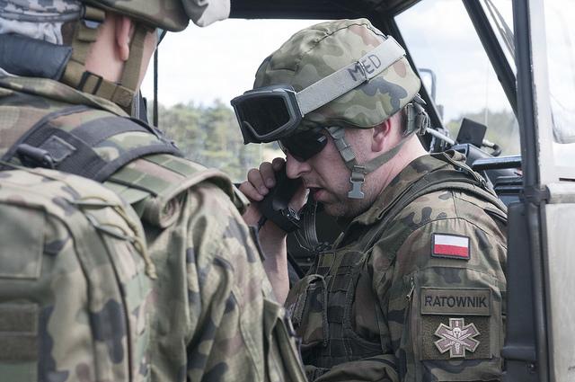 Ruszyły największe w tym roku manewry polskiego wojska pod kryptonimem Anakonda-18