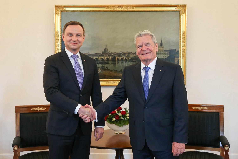 """Andrzej Duda w Berlinie: """"Rozwój polsko-niemieckich kontaktów to historia sukcesu"""""""