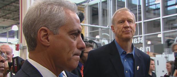 Emanuel i Rauner wspólnie zabiegają o drugą kwaterę główną Amazon w Chicago